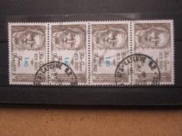 "VEND TIMBRES DE FRANCE N° 2052 EN BANDE DE 4 , OBLITERATIONS "" CAYENNE "" !!! - Französisch-Guayana (1886-1949)"