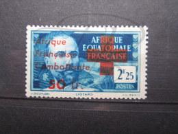 VEND TIMBRE D ' A.E.F. N° 165 , NEUF SANS CHARNIERE !!! - A.E.F. (1936-1958)