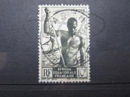 """VEND TIMBRE D ' A.E.F. N° 223 , CACHET """" LAMBARENE """" !!! - A.E.F. (1936-1958)"""