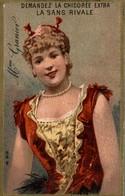 CHROMO LA CHICOREE LA SANS RIVALE A. HAQUET LILLE  Mme  GRANIER - Chromos