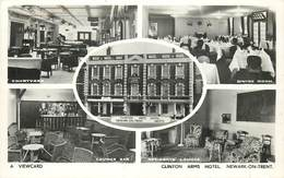 NEWARK ON TRENT - Clinton Arms Hotel,carte Multi-vues. - Angleterre