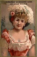 CHROMO LA CHICOREE LA SANS RIVALE A. HAQUET LILLE  Mme THEO - Cromos