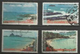 Thailand - 1975 Beach Scenes Used    Sc 757-60 - Thailand