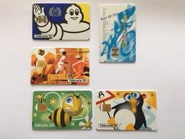 Lot De 25 Télécartes - Télécartes