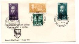 Sobre Con Matasellos Commemorativo Congreso Jesuitas De 1973 - 1931-Aujourd'hui: II. République - ....Juan Carlos I