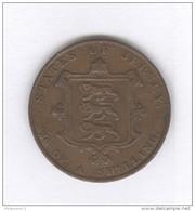 1/24 De Shilling Jersey 1841 - Victoria - TTB+ - Jersey