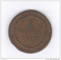 1 Kreuzer Baden 1808 - TTB - [ 1] …-1871 : German States