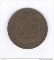 5 Bani Roumanie / Romania 1884 - TTB+ - Romania