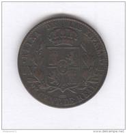 25 Centimes De Réal Espagne / Spain 1858 - TTB - [ 1] …-1931 : Royaume