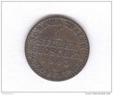 1 Silber Groschen 1863 A - TTB+ - [ 1] …-1871 : German States