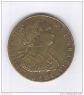 Médaille Carolus IIII Dei Gracias 1805 - 38 Mm - Bronze - Royaux/De Noblesse