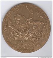 Médaille Bicentenaire Des L'Indépendance Des états-unis - 1976 - Bronze - Altri