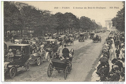 CPA Paris - Avenue Du Bois De Boulogne - Non Circulée - Francia