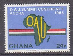 B0078 - GHANA Yv N°221 ** ORG. UNITE AFRICAINE - Ghana (1957-...)
