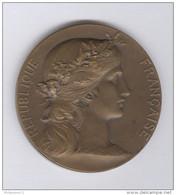 Médaille Prix De Tir Offert Par Le Ministère De La Guerre - Circa 1900 - Bronze - Graveur Daniel Dupuis - France