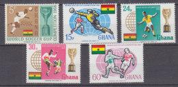 B0080 - GHANA Yv N°248/52 ** COUPE DU MONDE - Ghana (1957-...)