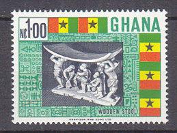 B0081 - GHANA Yv N°290 ** SCULPTURE - Ghana (1957-...)