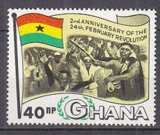 B0082 - GHANA Yv N°310 ** REVOLUTION - Ghana (1957-...)