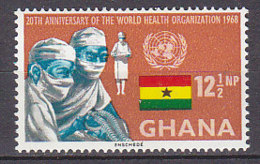 B0083 - GHANA Yv N°325 ** OMS WHO - Ghana (1957-...)