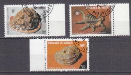 B0091 - DJIBOUTI Yv N°512/14 COQUILLAGES - Djibouti (1977-...)