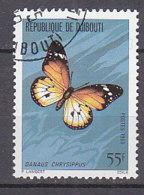 B0092 - DJIBOUTI Yv N°518 PAPILLON - Djibouti (1977-...)