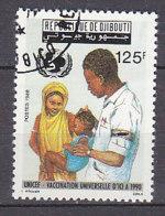 B0096 - DJIBOUTI Yv N°642 VACCINATION - Djibouti (1977-...)