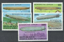 CONGO YVERT  458/62   MNH  ** - República Democrática Del Congo (1964-71)