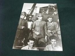 GRANDE GUERRA 1915 1918 PILOTI AEREI PIONIERI AVIAZIONE CARABINIERI PILOTA VERZA FRANCESCO CON AEREO - Aviatori