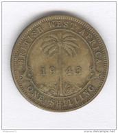 1 Shilling Afrique Britannique / British West Africa 1943 - British Colony