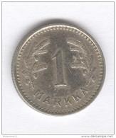 1 Markka Finlande / Finland 1939 - Finland