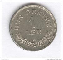 1 Leu ( Bon Pour ) Roumanie / Romania 1924 - Monnaie De Necéssité - Roumanie