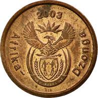 Monnaie, Afrique Du Sud, 5 Cents, 2003, TTB, Copper Plated Steel, KM:324 - Afrique Du Sud