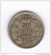 50 Para Yougoslavie 1925 - Yugoslavia