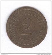 2 Para Yougoslavie 1904 - Yugoslavia