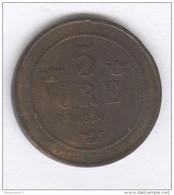 5 Ore Suède / Sweden 1874 - Suède