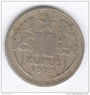10 Kurus Turquie / Turkey 1939 - Türkei