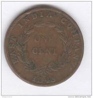 1 Cent Malaisie / Malaysia 1845 - Malaysie