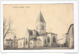 CPA Villars Les Dombes - L'Eglise - Circulée - Villars-les-Dombes