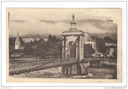 CPA Seyssel - Le Pont Et La Vierge - Circulée 1942 - Seyssel