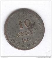10 Centesimi 1813 M - N Couronné - Napoleone I Imperator E Re - Temporary Coins