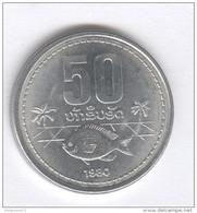 50 Att / 0,5 Lak Laos 1980 - UNC / Issued From Roll - Laos