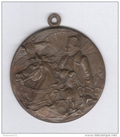 Pendentif Napoléon 1er- 37 Mm - Bronze - Royal / Of Nobility