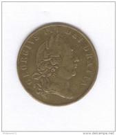 Jeton De Jeu Anglais - The Olden Times - Daté 1797 - Unclassified