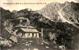 Muttekopfhütte Mit Plattein * 25. 3. 1918 - Imst