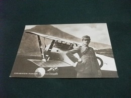 GRANDE GUERRA 1915 1918 PILOTI AEREI CARABINIERI PIONIERI AVIAZIONE  PILOTA AEREO CABRUNA ERNESTO - Aviatori