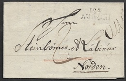 1811  LAC DEP. CONQUIS - 124 AURICH A NORDEN ( Ost Friedland ) - Steinbömer & Lubinus - ( Usine De Tabak ) - 1792-1815: Conquered Departments