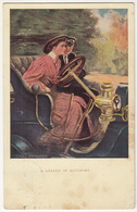 BRASS ERA CAR - 'A Lesson In Motoring' - (England, 1906) - Passenger Cars