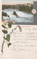 Rheinfall-Litho 1898 - SH Schaffhouse
