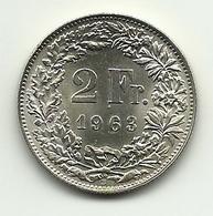 1963 - Svizzera 2 Francs - Svizzera
