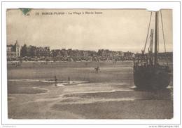 CPA Berck Plage - La Plage à Marée Basse - Circulée En 1926 - Berck